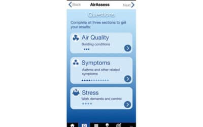 Indoor air quality app